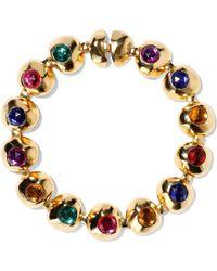 Ben-Amun - Woman Gold-tone Crystal Choker Gold Size -- - Lyst