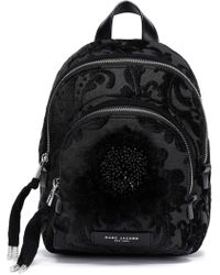 Marc Jacobs - Woman Embellished Brocade Backpack Black - Lyst