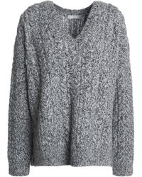 Vince - Marled Cable-knit Jumper - Lyst