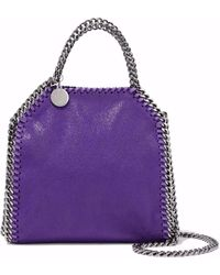 Stella McCartney - Falabella Faux Suede Tote - Lyst