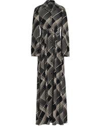 Co. - Printed Silk Maxi Dress - Lyst
