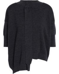 Marni - Asymmetric Wool Top - Lyst
