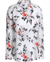 Equipment - Signature Floral-print Washed-silk Shirt - Lyst