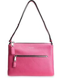 Marc Jacobs - Textured-leather Shoulder Bag - Lyst