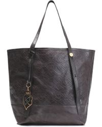 See By Chloé - Bisou Quilted Cracked-leather Tote - Lyst