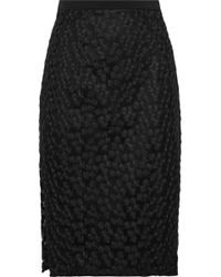 MILLY - Guipure Lace Skirt - Lyst