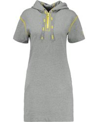 Marc By Marc Jacobs - Cotton-jersey Hooded Mini Dress - Lyst