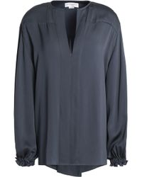 Amanda Wakeley - Silk-satin Blouse - Lyst