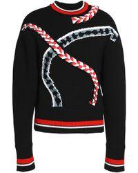 Emilio Pucci - Intarsia-knit Merino Wool Sweater - Lyst