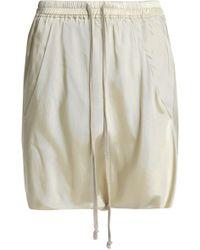 Rick Owens - Twill Shorts - Lyst