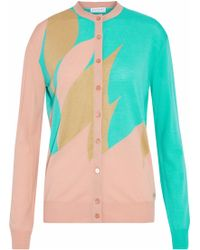 Vionnet - Wool, Cashmere And Silk-blend Cardigan - Lyst