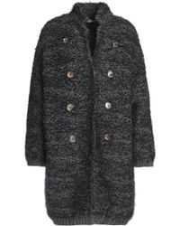 Brunello Cucinelli - Button-embellished Cashmere-blend Bouclé-knit Jacket - Lyst