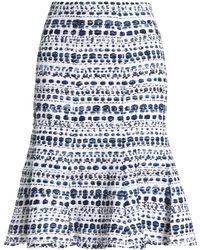 Oscar de la Renta - Tweed Skirt - Lyst