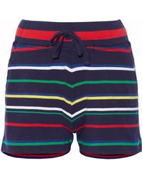 Sleepy Jones - Striped Cotton Pyjama Shorts - Lyst