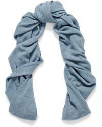 Autumn Cashmere - Cashmere Scarf Light Blue - Lyst