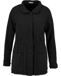 James Perse - Cotton-blend Parka - Lyst