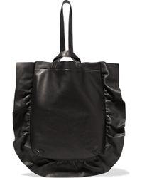 Loeffler Randall - Ruffled Leather Wristlet Bag - Lyst