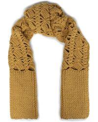 Acne Studios - Crocheted Merino Wool Scarf - Lyst