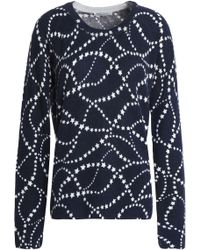 Equipment - Printed Cashmere Jumper - Lyst