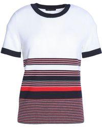 Rag & Bone - Striped Merino Wool Top - Lyst