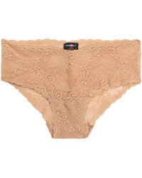 Cosabella - Mid-rise Lace Briefs - Lyst