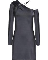 Cushnie et Ochs - One-shoulder Gathered Stretch-jersey Mini Dress - Lyst