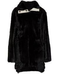 Yves Salomon - Shearling-lined Leather Coat - Lyst