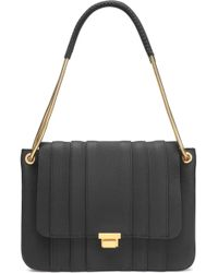Anya Hindmarch - Textured-leather Shoulder Bag - Lyst