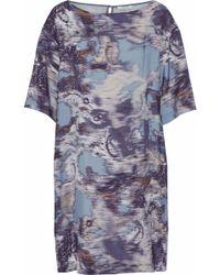 House of Dagmar - Satin Mini Dress - Lyst