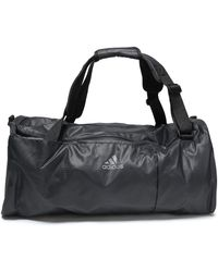 adidas - Woman Shell Weekend Bag Charcoal - Lyst
