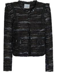 Joie - Perlyn Frayed Bouclé-tweed Jacket - Lyst