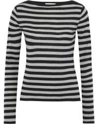 Max Mara - Savina Striped Cashmere Sweater - Lyst