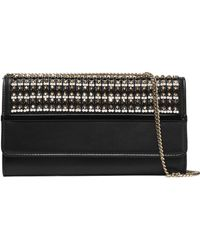 Lanvin - Beaded Leather Clutch - Lyst