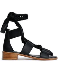 Pierre Hardy - Lace-up Leather Sandals - Lyst