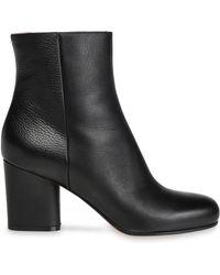 Maison Margiela - Leather Ankle Boots - Lyst