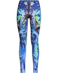 Just Cavalli - Printed Jersey leggings - Lyst