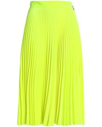 MSGM - Pleated Flared Style Skirts - Lyst