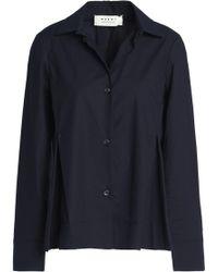 Marni - Cotton-poplin Shirt - Lyst