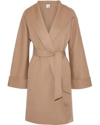 Iris & Ink - Maggie Wool And Cashmere-blend Coat - Lyst