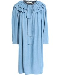 Marc Jacobs - Tiered Chambray Dress - Lyst