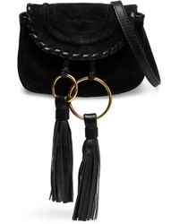 See By Chloé - Polly Tasselled Suede Shoulder Bag - Lyst