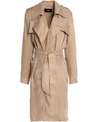 Line - Twill Trench Coat - Lyst