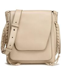 Elena Ghisellini - Leather Shoulder Bag - Lyst