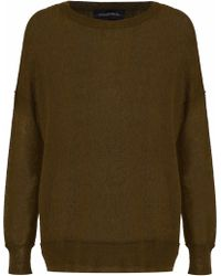 By Malene Birger - Woman Knitted Sweater Army Green - Lyst