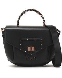 Roberto Cavalli - Studded Leather Shoulder Bag - Lyst