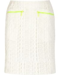 Preen Line - Ruffle-trimmed Cotton-poplin Shirt - Lyst