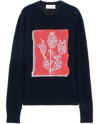Peter Pilotto - Jacquard Wool-blend Sweater - Lyst