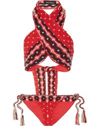 Tabula Rasa - Anat Macramé Cotton Bikini - Lyst