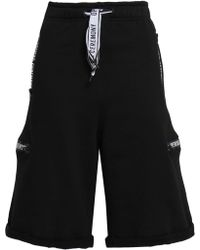 Opening Ceremony - Woman Cotton Shorts Black - Lyst