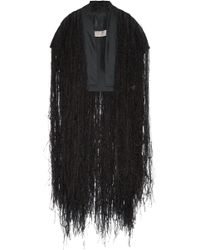 Rick Owens - Silk-organza And Feather Vest - Lyst